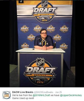 2016-NHL-Draft-Upper-Deck-First-Niagra-Buffalo-Dave-&-Adams-Cardworld-Group-Breaks-Live