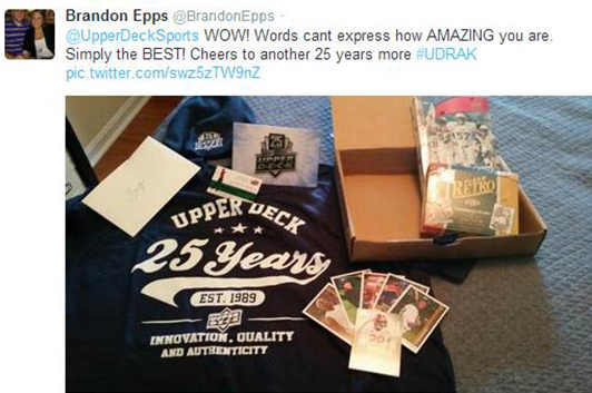 Upper-Deck-Random-Acts-of-Kindness-Envelope-Mail-Social-Media