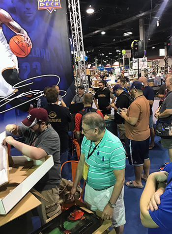 Upper-Deck-Authenticated-Monumental-Volume-1-Multi-Sport-National-Sports-Collectors-Convention-Crowd