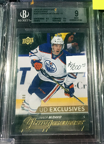 Upper-Deck-Sport-Card-Expo-Collector-Scores-Big-with-2015-16-Connor-McDavid-Young-Guns-Exclusives-Card