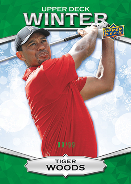 2018-upper-deck-singles-day-ud-winter-green-bounty-promo-tiger-woods