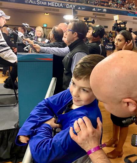 2019-upper-deck-nhl-all-star-media-day-kid-correspondent-7