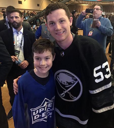 2019-upper-deck-nhl-all-star-media-day-kid-correspondent-player-jeff-skinner