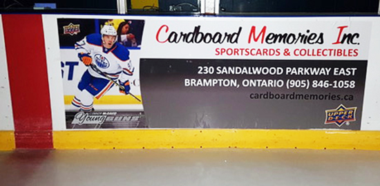 Grosnor-Rink-Boards-Cardboard-Memories