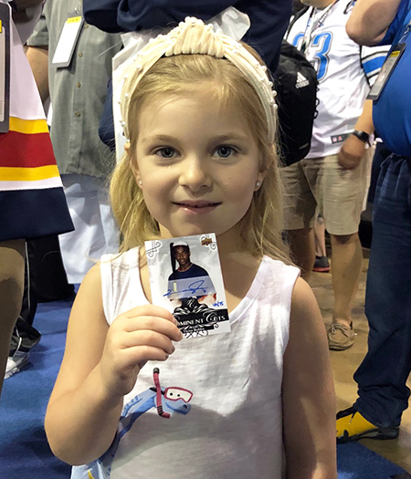 upper deck kids national sports collectors convention nscc marketing