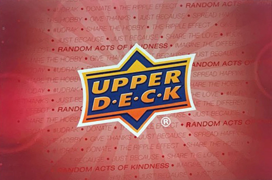 udrak upper deck random acts of kindness