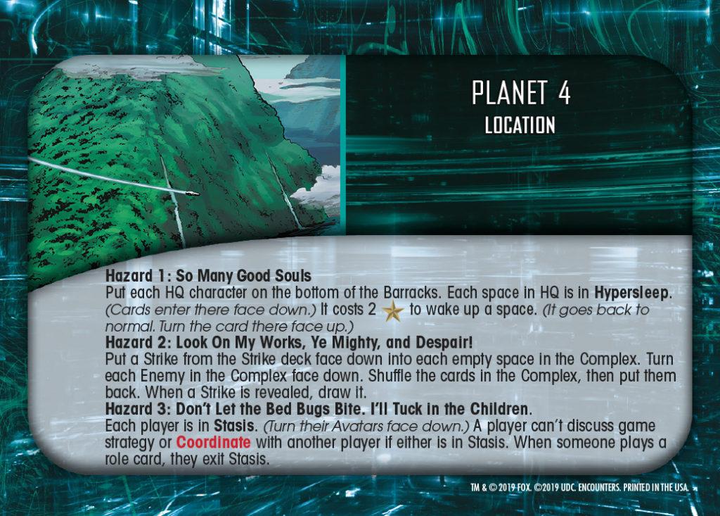 Legendary Encounters Alien Covenant Location Planet 4