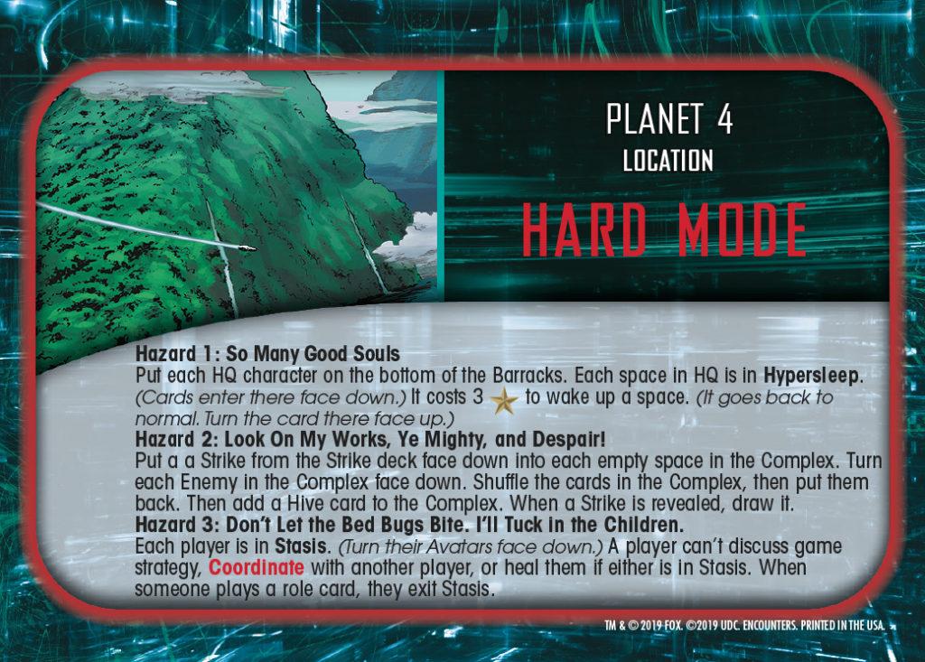 Legendary Encounters Alien Covenant Location Planet 4 Hard Mode