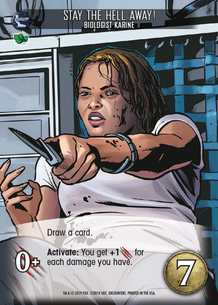 Legendary Encounters Alien Covenant Biologist Karine Stay the Hell Away!