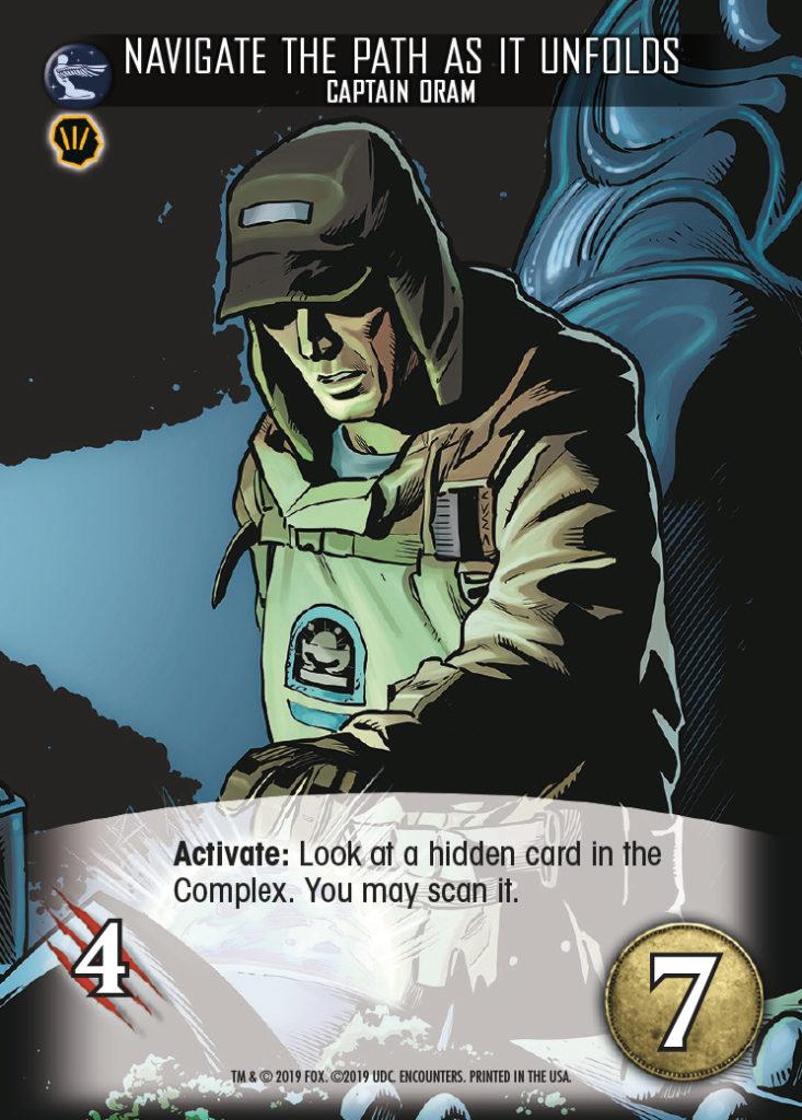 Legendary Encounters Alien Covenant Captain Oram Navigate the Path as it Unfolds