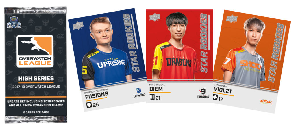 Overwatch League High Series Star Rookies