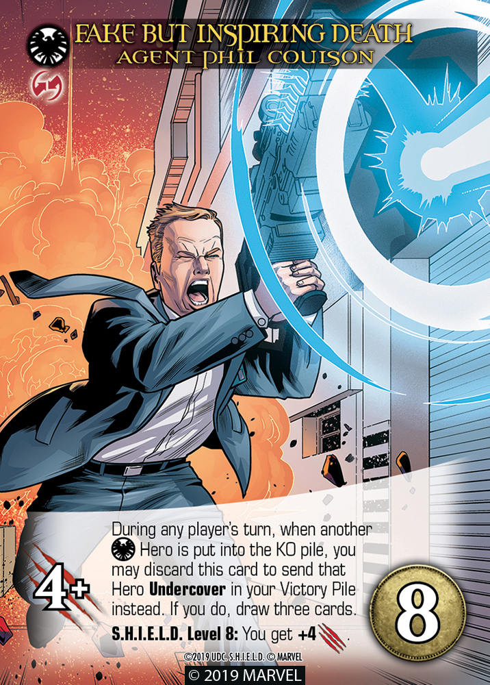 Legendary SHIELD Hero Fake But Inspiring Death Agent Phil Coulson