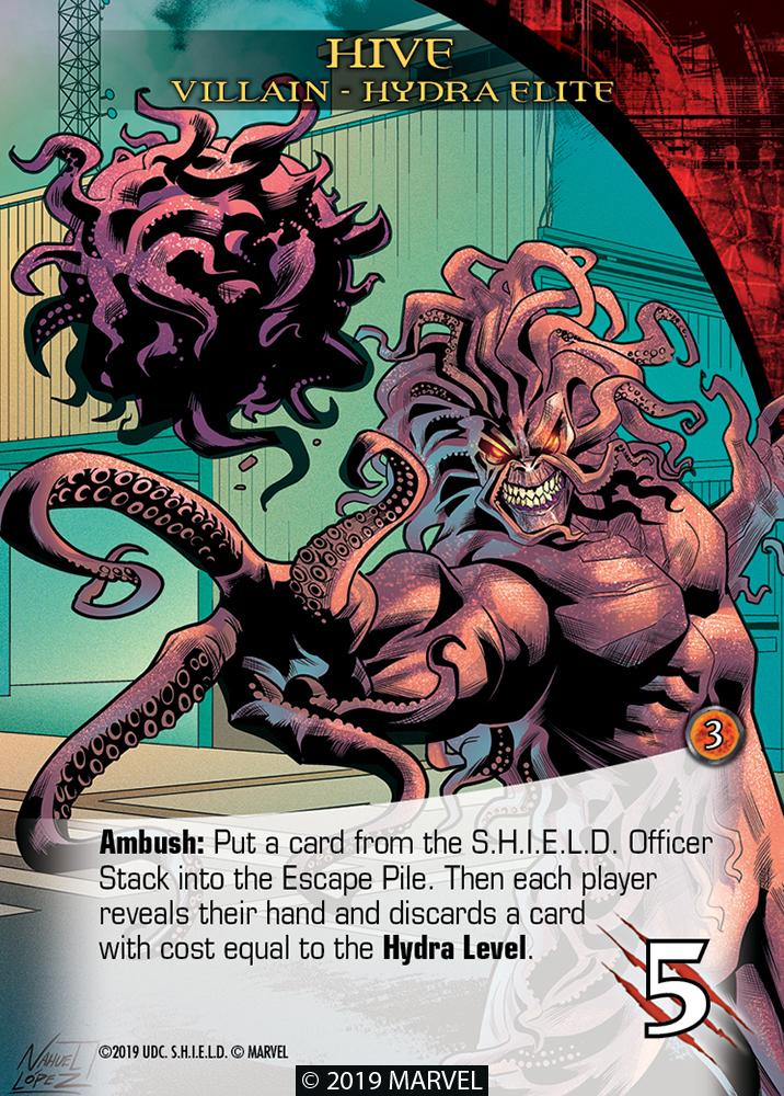 Legendary Shield Villains Hive Hydra Elite