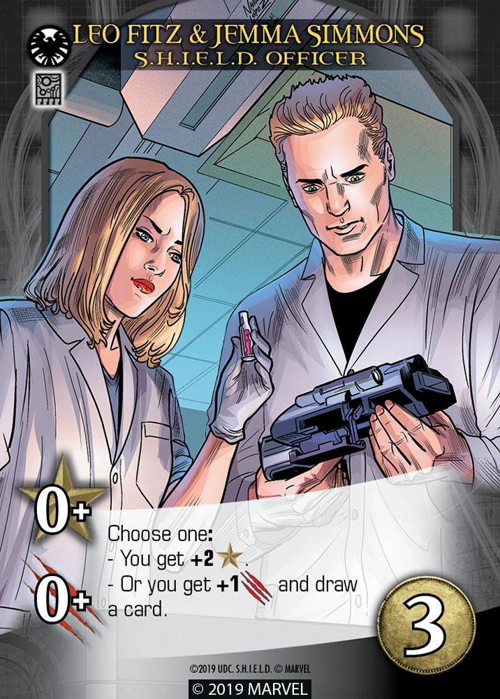 Legendary SHIELD Hero Leo Fitz & Jemma Simmons S.H.I.E.L.D. Officer