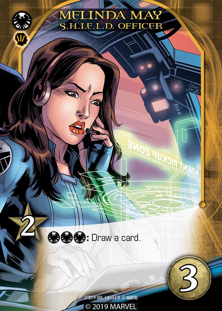 Legendary SHIELD Hero Melinda May SH.I.E.L.D. Officer