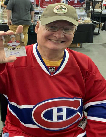upper deck trade show hobby sports collectibles trading cards hockey montreal