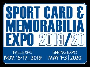upper deck fall sport card memorabilia expo