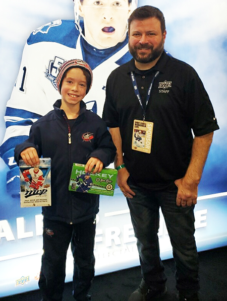 upper deck customer fan engagement fall expo kid