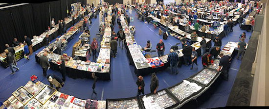 western canada card sports collectors convention experience