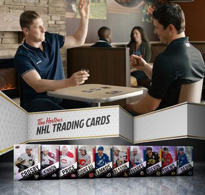upper deck nhl tim hortons cards