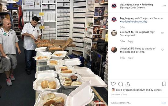national hobby shop day big league upper deck gts food