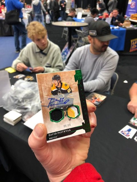 artifacts autograph patch cards collect hockey nhl