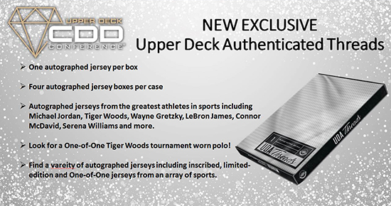 upper deck authenticated threads blind box jersey product