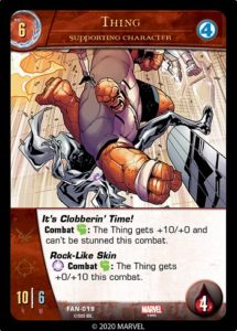 1-2020-upper-deck-marvel-vs-system-2pcg-fantastic battles-supporting-character-thing