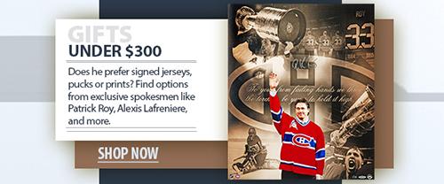 2020 father's day hockey memorabilia under $300