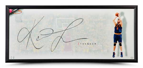 Kevin Love Autographed The Show