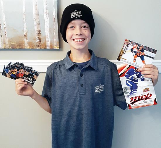 upper deck collectors choice fan engagement kid designer