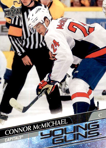 2020-21 nhl upper deck series one young guns connor mcmichael