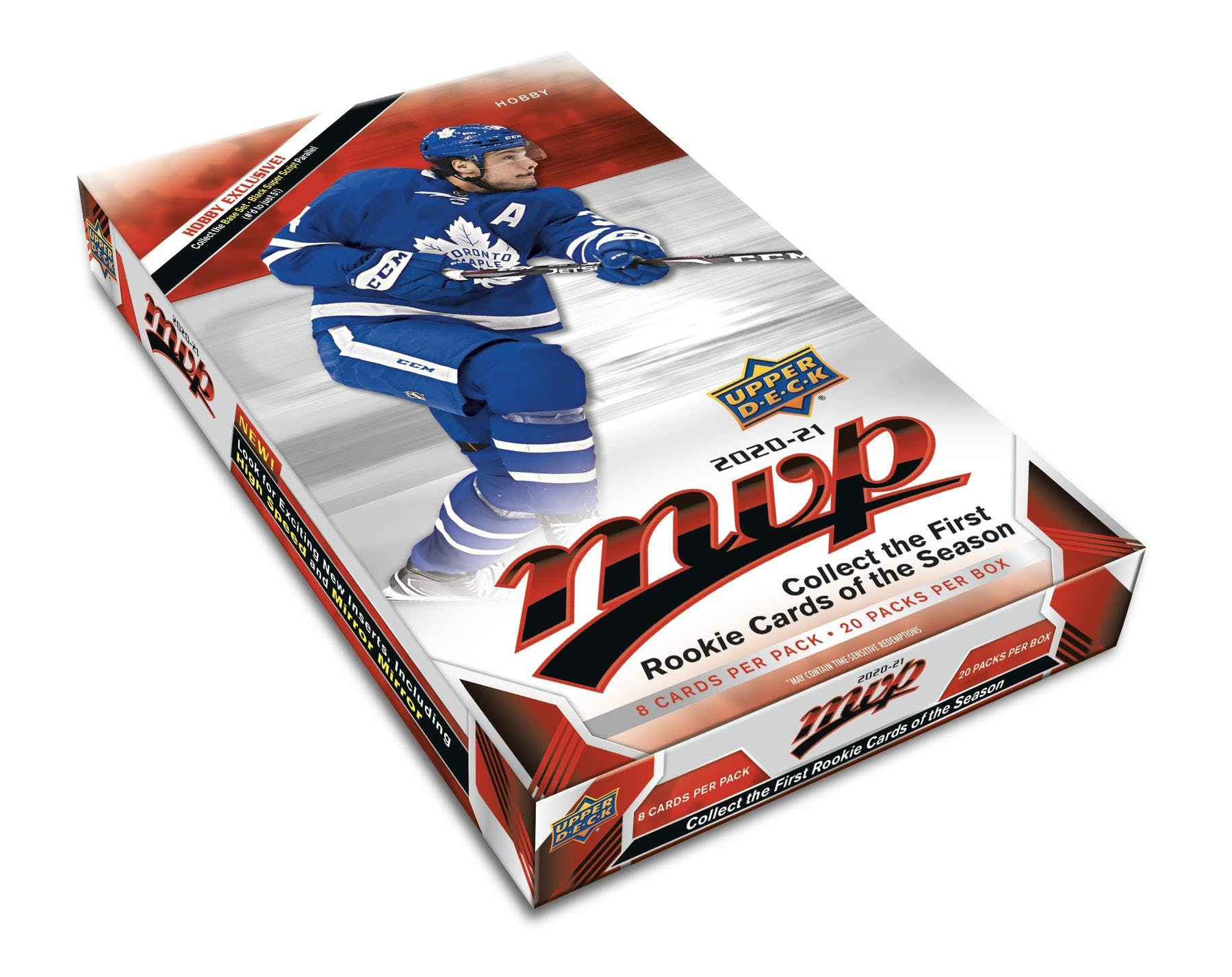 2020-21 nhl upper deck mvp hockey trading cards hobby box