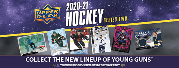 2020-21 Upper Deck Series 2 Promotional Banner