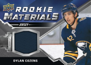 Dylan Cozens - Rookie Materials - 2020-21 Upper Deck NHL Series 2