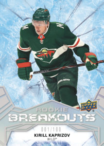 Kirill Kaprizov - Rookie Breakouts - 2020-21 Upper Deck NHL Series 2