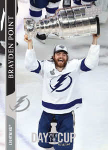 Brayden Point - Day With The Cup - 2020-21 Upper Deck NHL Series 2