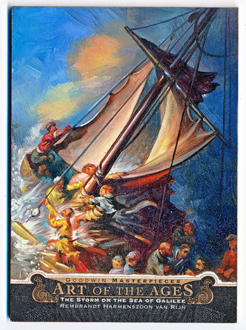 netflix this is a robbery rembrant storm on the sea of galilee upper deck art card