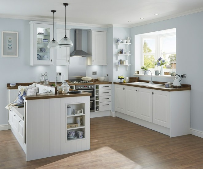 Burford Tongue and Groove White