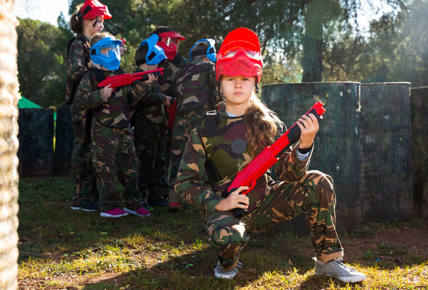 Low Impact Paintball