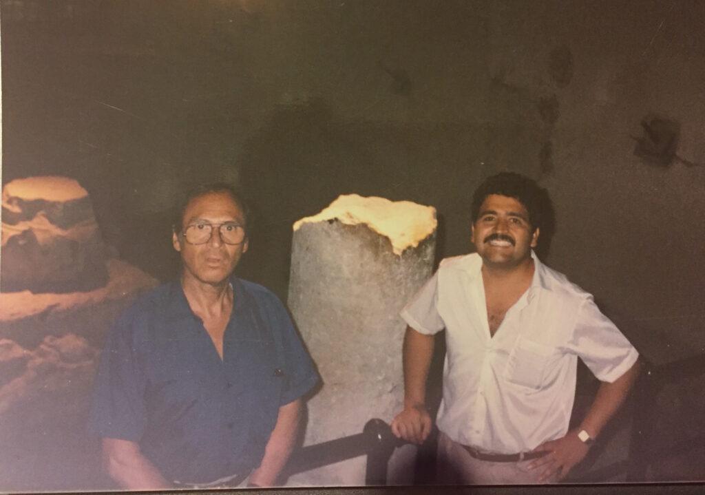 Jesus Rodriguez de Hijar y Rigoberto Gomez Cova