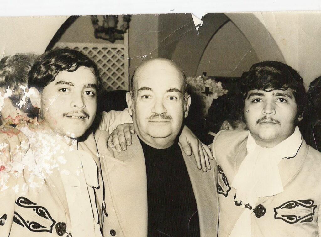 Maestro Manuel Esperon y Rigoberto Gomez Cova