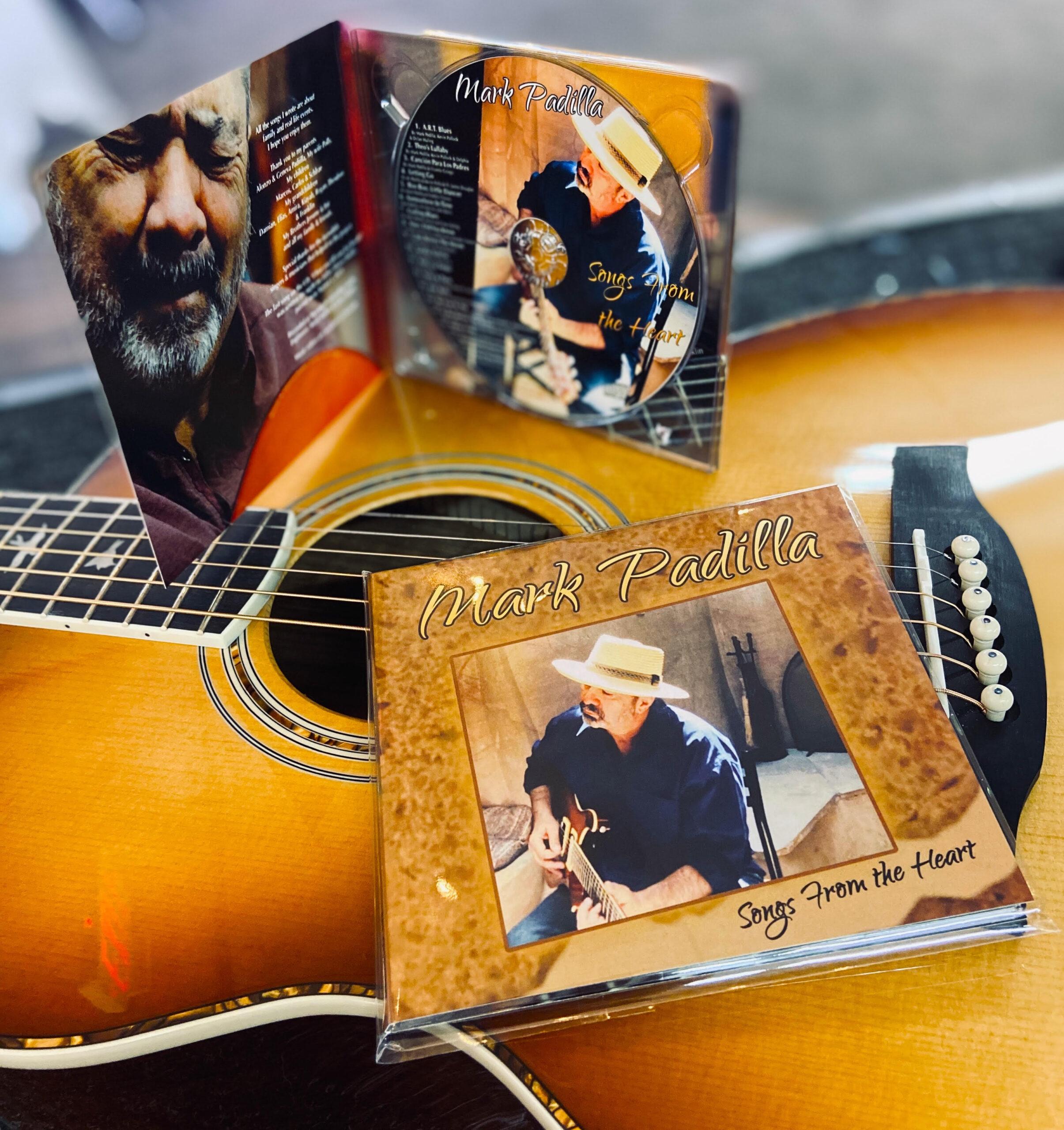 Mark Padilla's CD Songs from the Heart