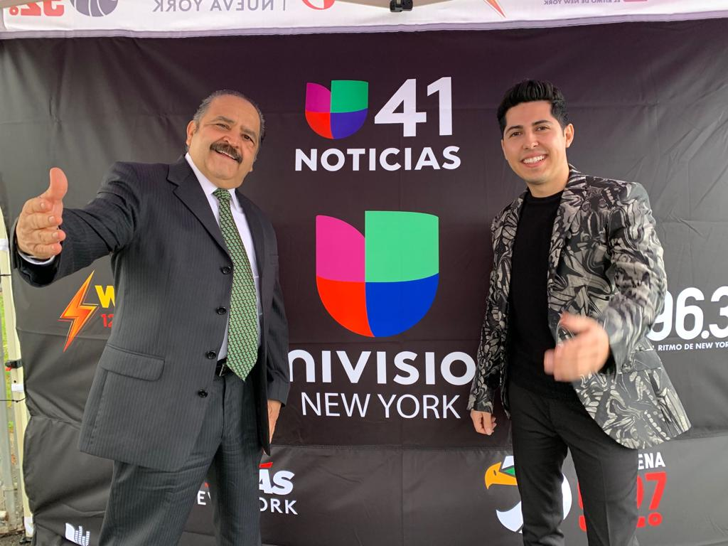 Rigoberto Gomez Cova con Santiago Alberto