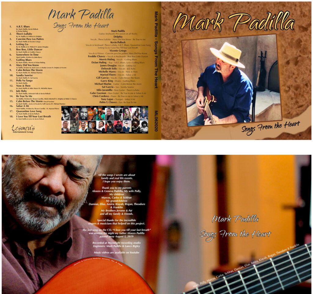 Mark Padilla's CD Songs from the Heart
