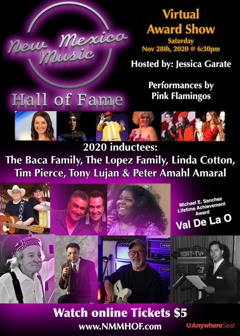 NM Music Hall of Fame Awards 2020