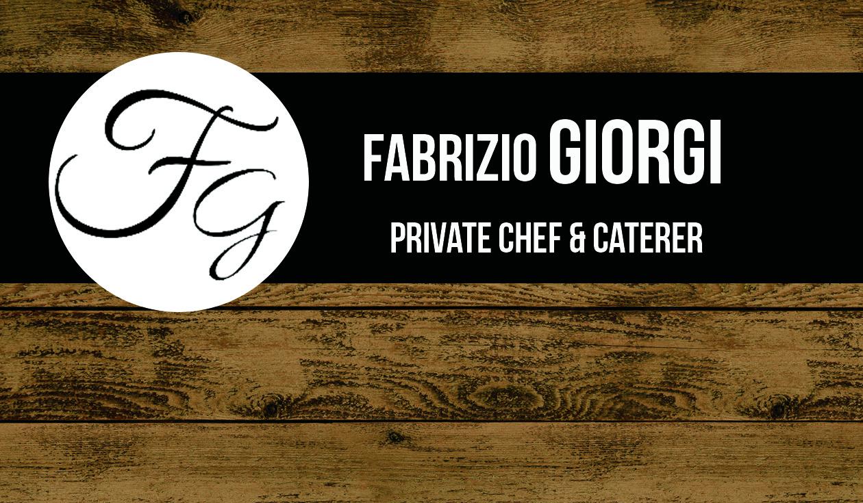 Chef Fabrizio Giorgi