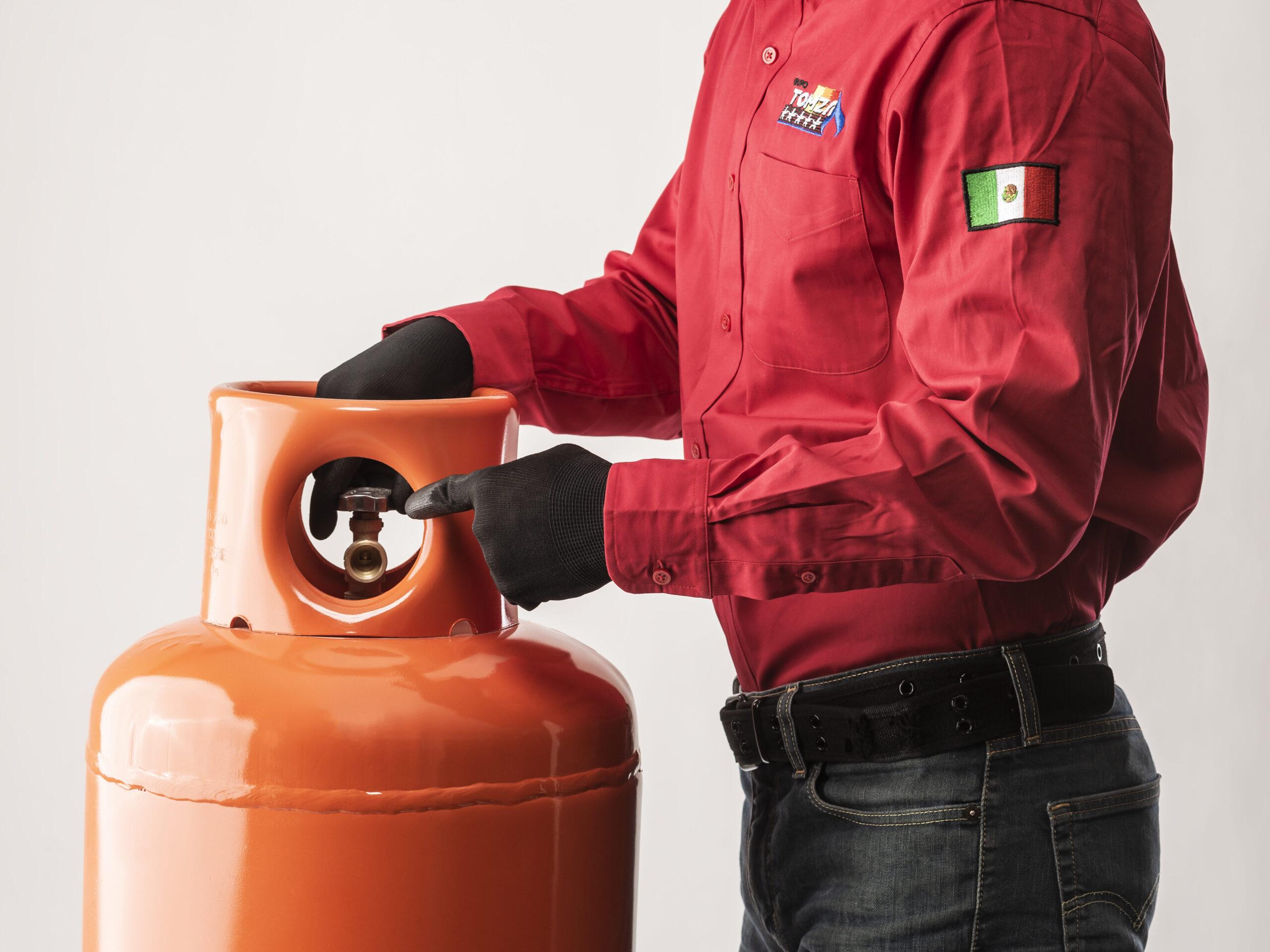 ¿Cómo instalar un cilindro de Gas LP?