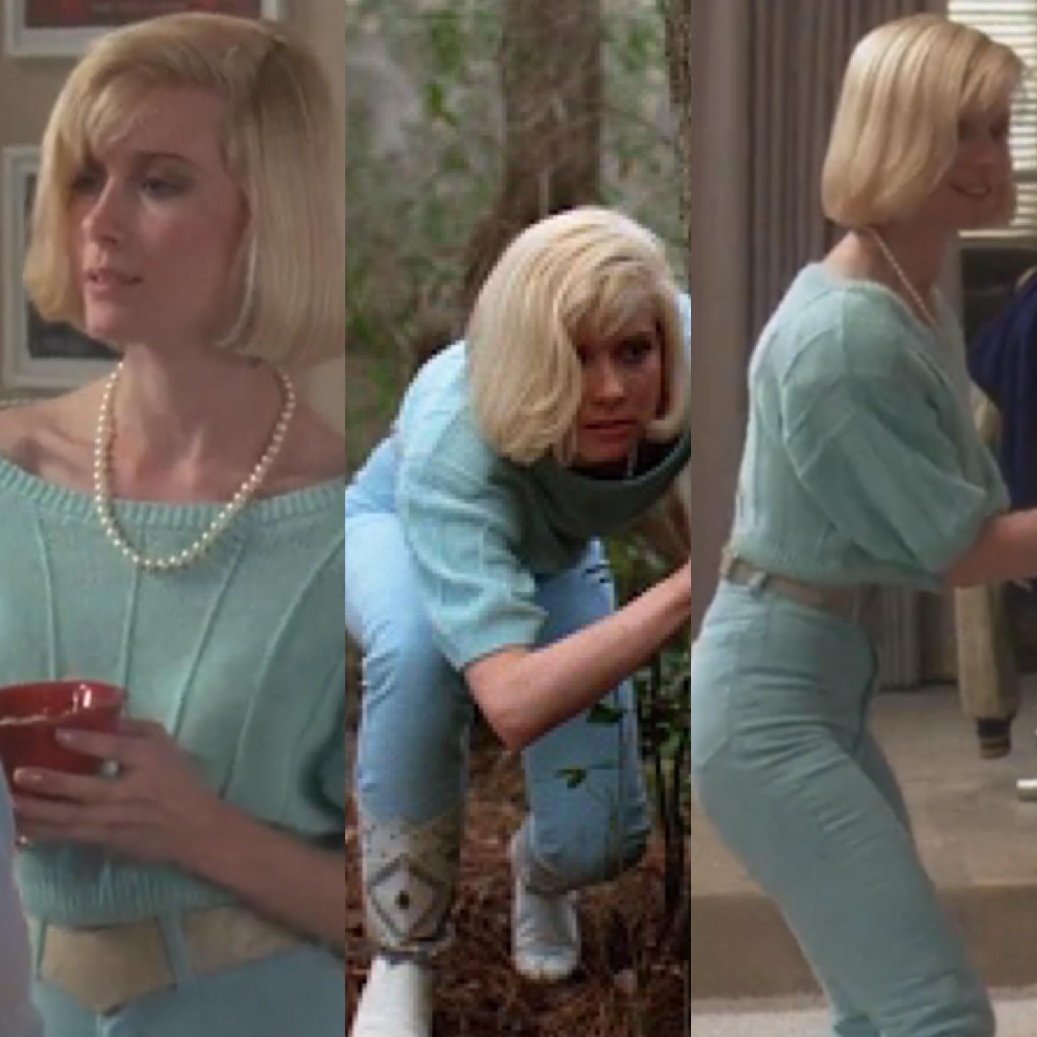 blonde horror fashion