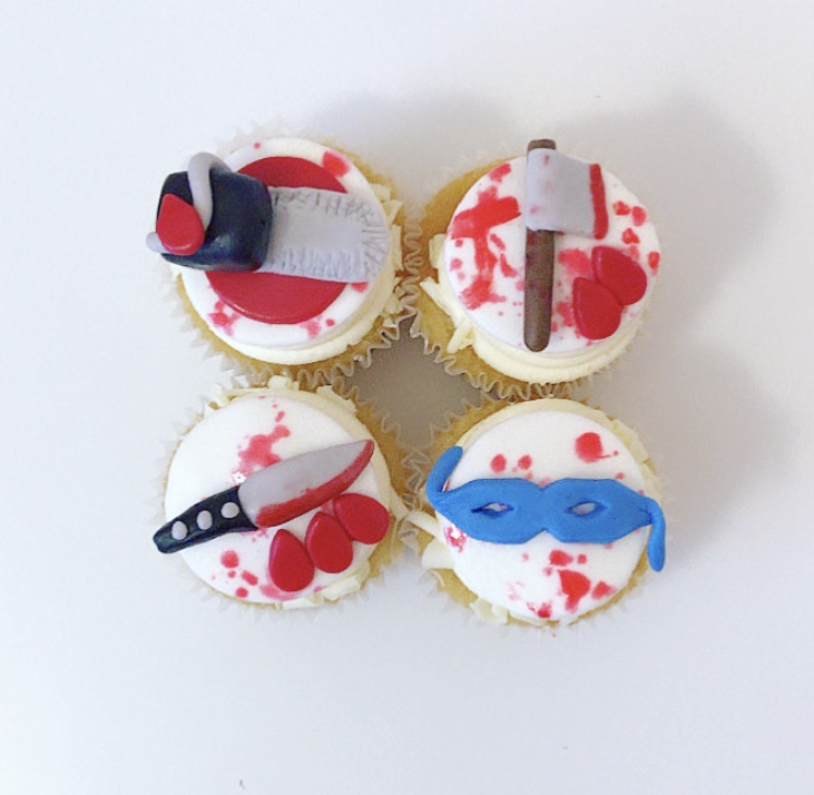 american psycho cupcakes